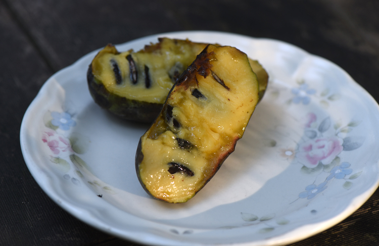 This is the last pawpaw from my trees. I'm going to savor each bite as there won't be another until next fall. Photos by Doug Oster