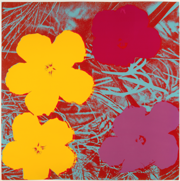 © 2017 The Andy Warhol Foundation for the Visual Arts, Inc. / Artists Rights Society (ARS), New York. Andy Warhol (American, 1928-1987) Flowers, c.1967