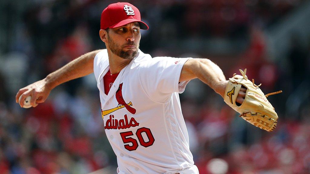Cardinals pitcher Adam Wainwright