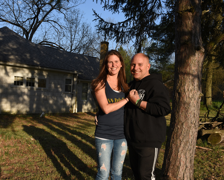 Jen and David Titley both are connected to their past by plants. They are planting a garden at the house they plan to move to in July. It's where David's grandmother, Bessie Purucker lived in Chicora, Butler County.