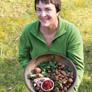 Ellen Zachos is the Backyard Forager, author of two books on the topic.