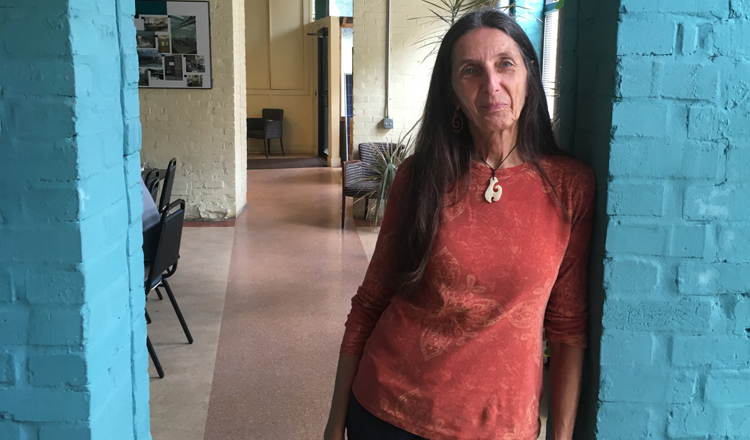 Nancy Martin is an evironmental educator at the Pennsyvania Resources Council. One of the the things she does is teach people how to compost.