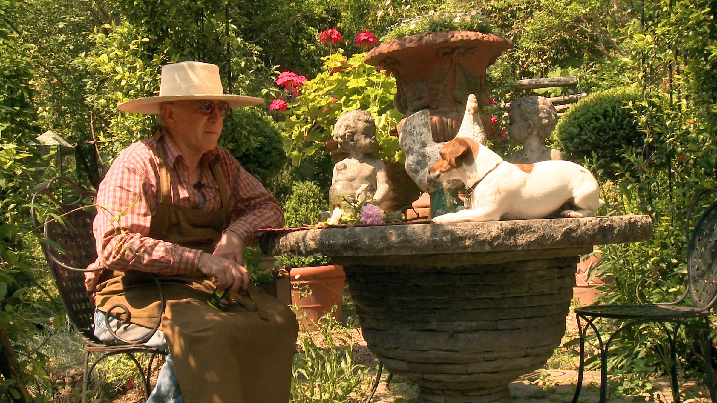 Ryan Gainey is a self taught plantsman and garden designer featured in the documentary The Well-Placed Weed: The Bountiful Gardens of Ryan Gainey. He loved his dogs like they were his children.