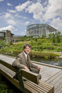 Richard Piacentini is president and CEO of Phipps Conservatory and Botanical Garden. He sat down to cover the history of the conservatory as it reaches 125 years old. Photo by David Aschkenas