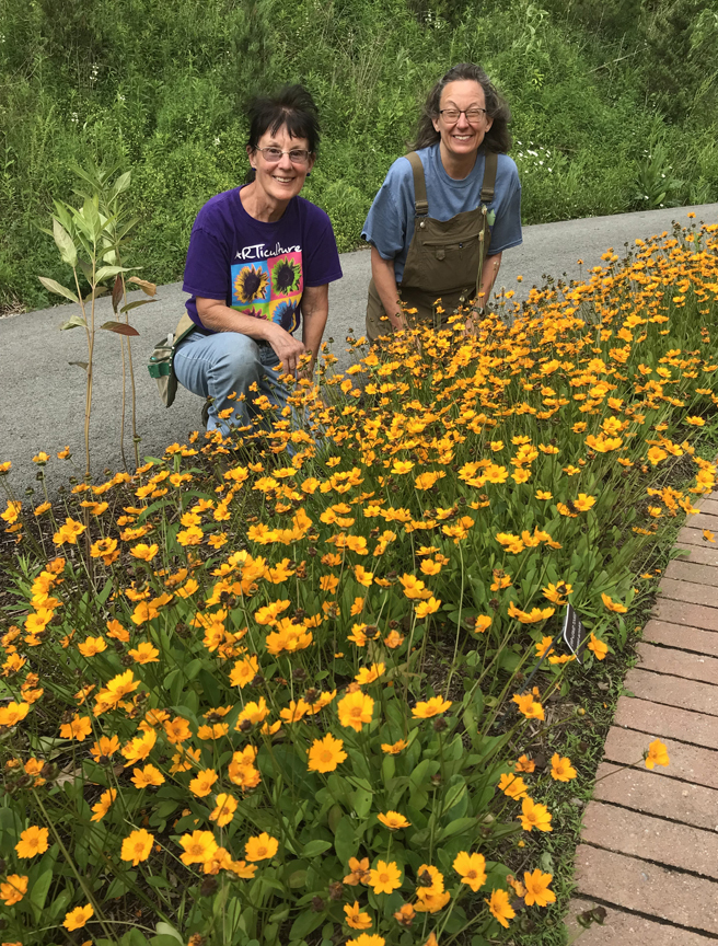 Wilma Light and Patti Schildkamp are Penn State Master Gardeners of Westmoreland County and are part of the team that started the Pollinator Palooza Garden Rally.