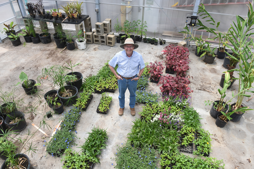 Frank Pizzi is curator of horticulture and grounds at the Pittsburgh Zoo & PPG Aquarium. He oversaw the construction of a new, state of the art greenhouse at the zoo. He's also planning on retiring in October.