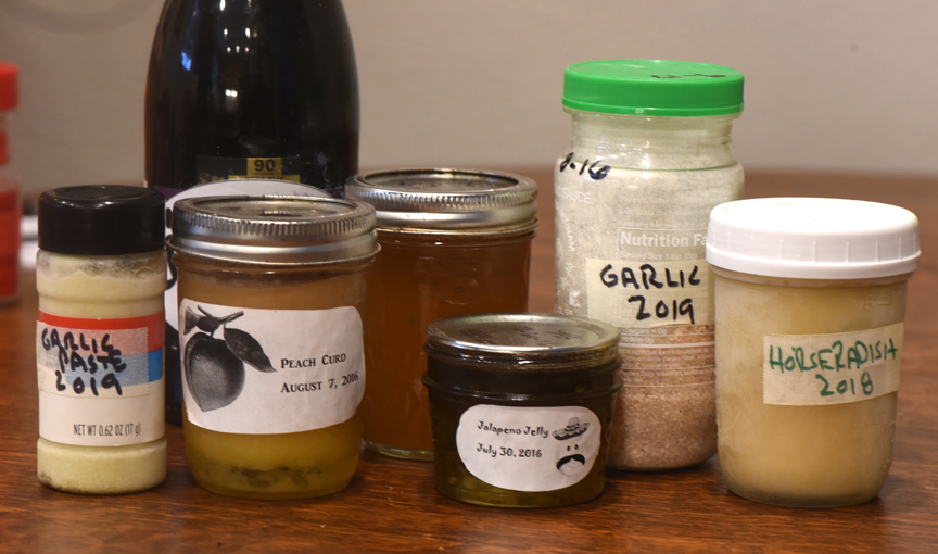 Bruce and Susan Ellis of McCandless love to create tasty treats from the garden.