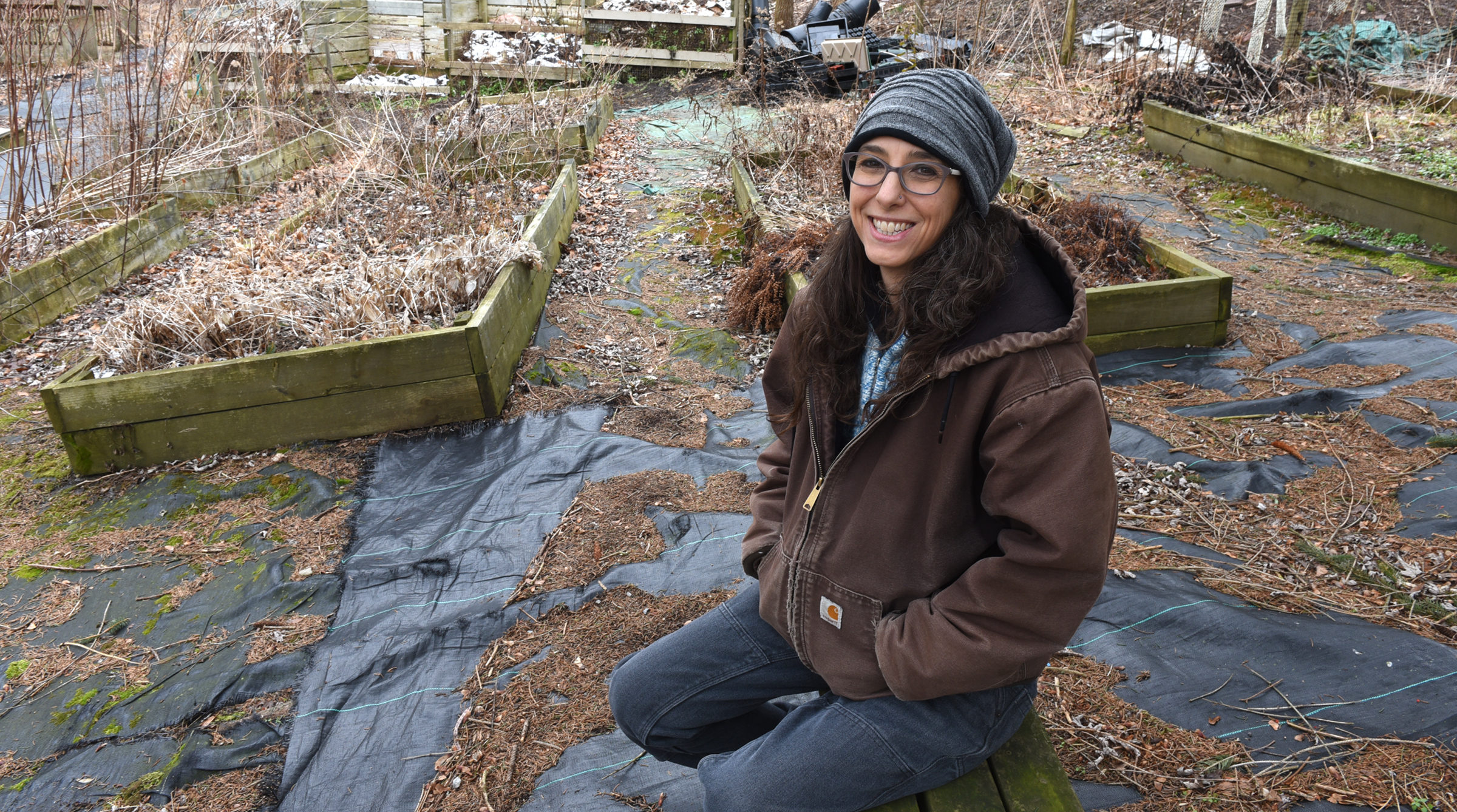 Roxanne Swan is coordinator of the Audubon Center for Native Plants at Beechwood Farms along with being an environmental botanist and horticulturist.