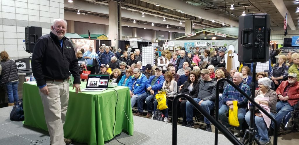 Everybody Gardens editor Doug Oster will speak numerous times at this year's Duquesne Light Home and Garden Show.